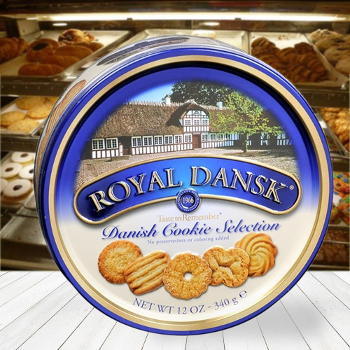 Royal Dansk Assorted Cookies