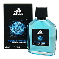 Fresh impact after shave lotion from Adidas