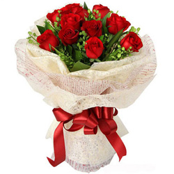 Anniversary Precious Red Rose Bouquet