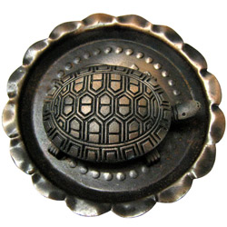 Spiritual Vastu Tortoise in a Bowl Showpiece