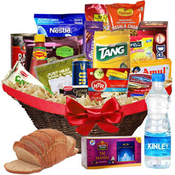 Charming World of Thanks Breakfast Gift Basket