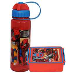 Astonishing Kids Delight Spider Man Tiffin Set