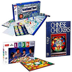 Board Game Collection Pack with Chinese Checkers, Game of Life from Funskool , Scotland Yard from Funskool.